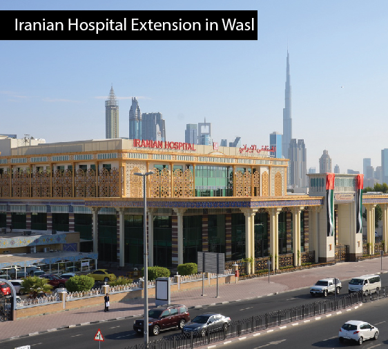 Iranian Hospital Extension in Wasl